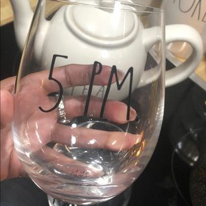 Rae Dunn wine glasses